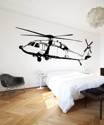 military wall decal designs vinyl wall decal sticker black hawk helicopter os mb600