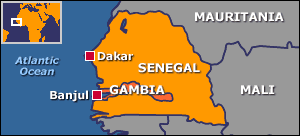 africa map gambia news uk s found in gambia