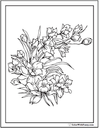 printable coloring pages for adults flowers 42 coloring pages customize printable pdfs