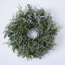 eucalyptus wreath mixed eucalyptus wreath on food52