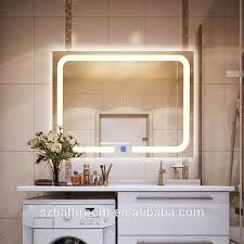 Bathroom Mirrors With Lights Attached Bathroom Mirror Attached Light Bathroom Mirror Attached Light