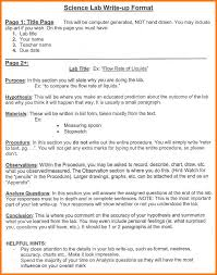 biology lab report template 9 lab report format exle park attendant