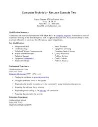 Desktop Support Technician Resume Sample by Resume It Technician Resume
