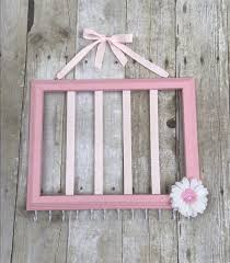 Gray And Pink Nursery Decor by Light Pink Hair Bow Holder Pink And White Nursery Decor Hair