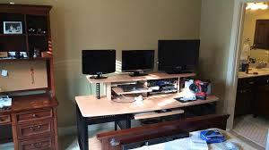 Creation Station Desk Setup 2014 Youtube