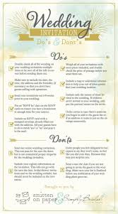 6 super helpful wedding invitation checklists infographics