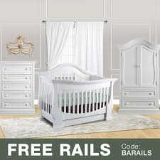 White Convertible Crib With Drawer Baby Appleseed 3 Nursery Set Davenport 3 In 1 Convertible