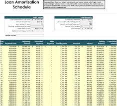 Payment Schedule Excel Template 5 Plus Amortization Schedule Calculators For Excel