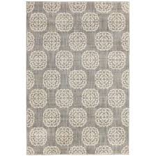 home decorators collection essex medallion grey 9 ft 6 in x 12