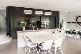 modern kitchen designs melbourne the corian kitchen benchtop in deep nocturne