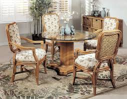 dining room wicker chairs with table all modern chair and