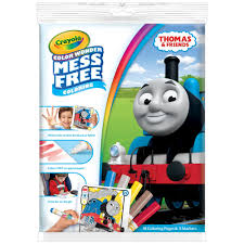 crayola color wonder coloring book set thomas the train walmart com