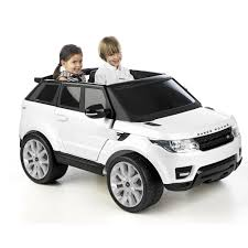land rover electric licensed feber range rover sports electric 12v ride on car white
