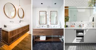 mirror ideas for bathroom 5 bathroom mirror ideas for a double vanity contemporist