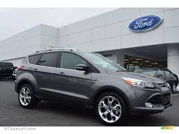 Ford Escape Ecoboost - 2014 sterling gray ford escape titanium 2 0l ecoboost 97146667