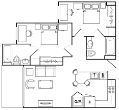 Movie Floor Plans by Asu Vista Del Sol Arizona State University