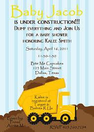 baby shower invitation baby under construction digital