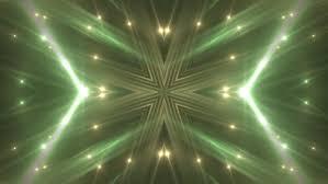 vj fractal green kaleidoscopic background background gold motion