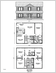 4 bedroom 2 story house plans plans 4 bedroom house plans with basement