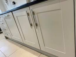 is it better to paint or spray kitchen cabinets spray paint or paint a kitchen kitchen spray painting
