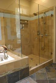 bathtub with shower surround bathroom gorgeous bathroom decoration using unframed glass shower