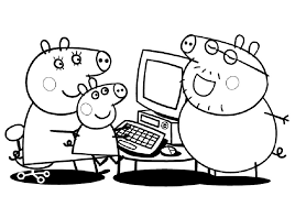 funny peppa pig george coloring pages 2586 peppa pig george