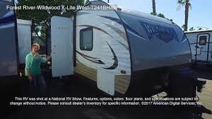 forest river wildwood x lite west t241bhxl youtube