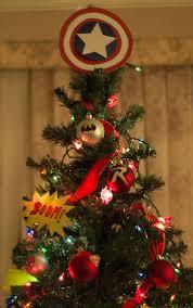 diy superhero christmas tree