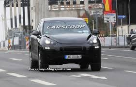 porsche cayenne 2010 spy shots porsche cayenne ii with interior shots