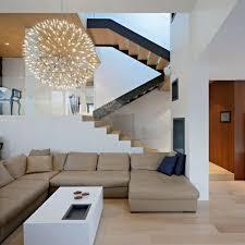 beleuchtung fã r wohnzimmer moderne häuser mit gemütlicher innenarchitektur geräumiges