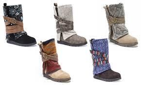 groupon s boots muk luks s boots groupon