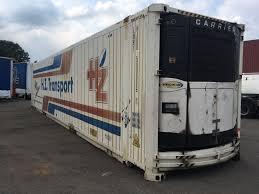 carrier intermodal 18 units intermodal 45 ft frigo cool contai
