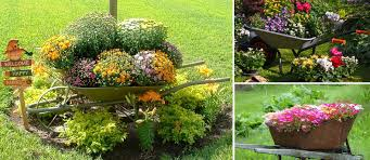 25 wheelbarrow planter ideas for your garden garden lovers club