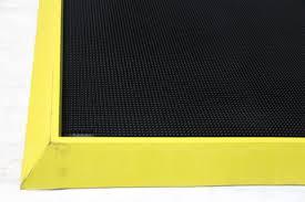 Yellow Bath Mat Disinfectant Boot Bath Crown Mats