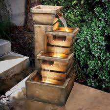 Small Water Features For Patio Outdoor Fountains Shop The Best Deals For Nov 2017 Overstock Com