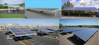 Solar Canopy by Car Parking Canopy Tanweer