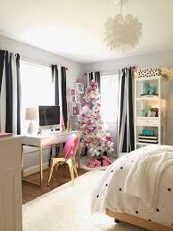 decorating a room for black white gold and pink