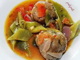cuisiner des haricots plats recette de boulettes maison aux haricots plats et tomates