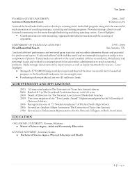 Soccer Coach Resume Sample by Head Basketball Coach Resume Examples Contegri Com