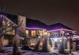 stunning outdoor christmas lights a permanent and convenient solution