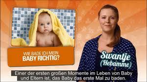 Dr Bade Wie Bade Ich Mein Baby Richtig Swantje Wird Das Baby Schon