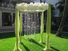 Trellis Rental Wedding Halekulani Outdoor Trellis I U0027d Go Ivory Lavender Wedding