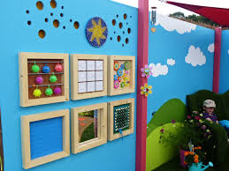 outdoor sensory wall panels google search kids art projects