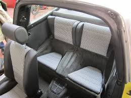 porsche 911 car seats back seats porsche 911 912 leatherette houndstooth