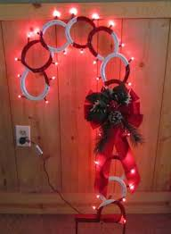 horseshoe christmas ornaments 54 best things made out of horseshoes images on