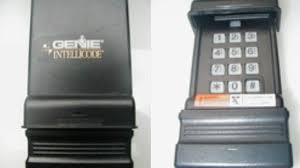 genie garage door keypadt program wireless ic black model you opener programming