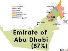 map of the uae uae facts dubai facts abu dhabi facts