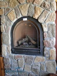 Gas Mantle Fireplace by Arched Gas Fireplace For Small Room Dream Home Pinterest Gas