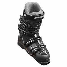 womens size 9 in ski boots rossignol axium boots black silver size 26 9 5 ebay