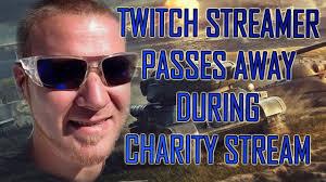 Stream Breaking Bad Twitch Streamer Dies During 24 Hour Charity Stream Breaking News